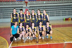 Ekipa košarkašica Škole