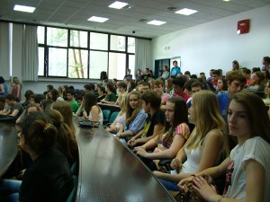 Učenici Škole u plavoj  dvorani