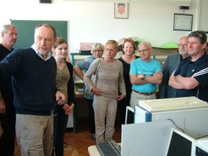 Ravnatelji u kabinetu elektrotehnike