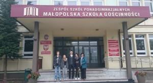 Učenici sudionici razmjene s prof. Ksenijom  Đorđević