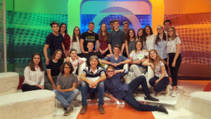 Učenici u studiju HRT-a