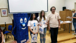 Franceska Milohanić i Lucija Zidarić
